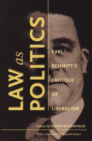 Law as Politics -PB 9780822322443