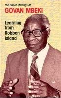 Learning from Robben Island: Govan Mbeki's Prison Writings 9780821410073