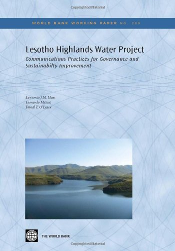 Lesotho Highlands Water Project: Communication Practices for Governance and Sustainability Improvement 9780821384152