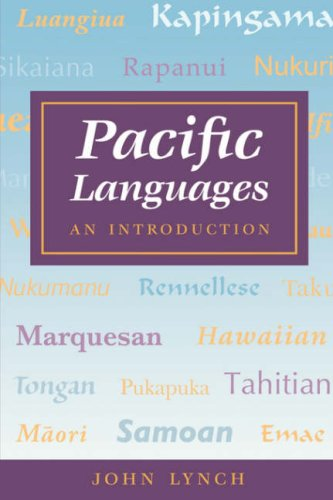Lynch: Pacific Languages: An Intro 9780824818982
