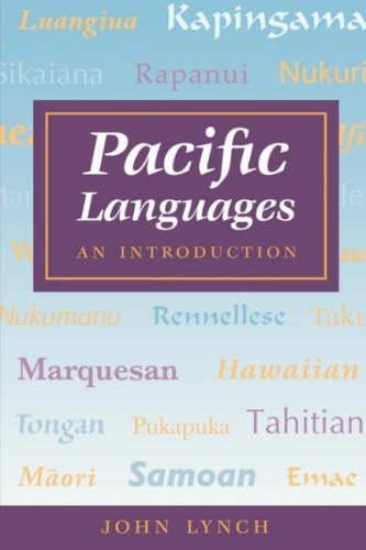 Lynch: Pacific Languages: An Intro - Lynch, John