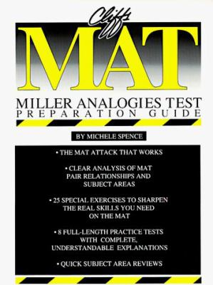Cliffs Mat (Miller Analogies Test) Preparation Guide