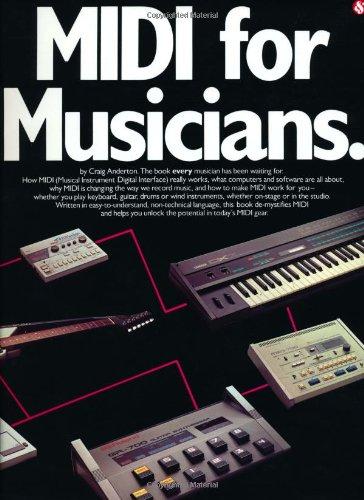MIDI for Musicians 9780825610509