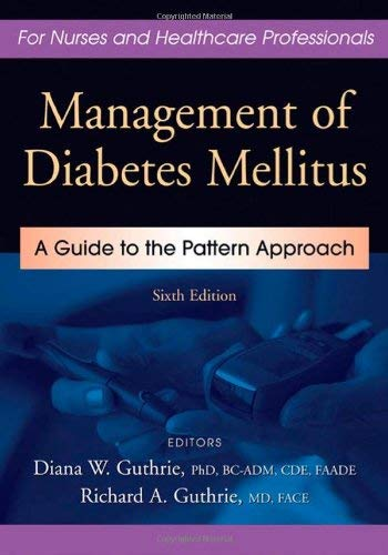 Management of Diabetes Mellitus: A Guide to the Pattern Approach 9780826119094