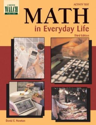Math in Everyday Life 9780825142581