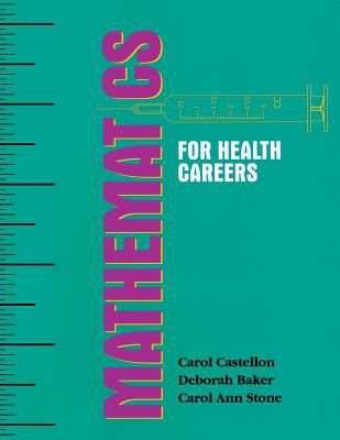 Mathematics for Health Careers 9780827355699