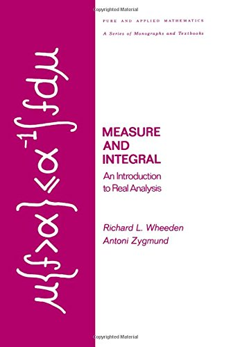 Measure and Integral: An Introduction to Real Analysis 9780824764999