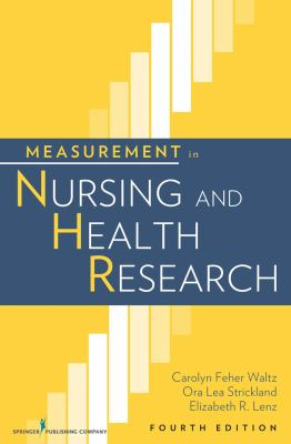 Measurement in Nursing and Health Research 9780826105073