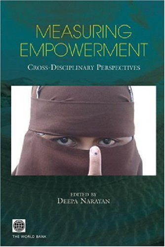 Measuring Empowerment: Cross-Disciplinary Perspectives 9780821360576