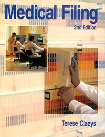 Medical Filing 9780827381773