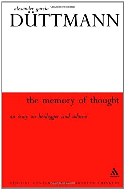 Memory of Thought 9780826459015