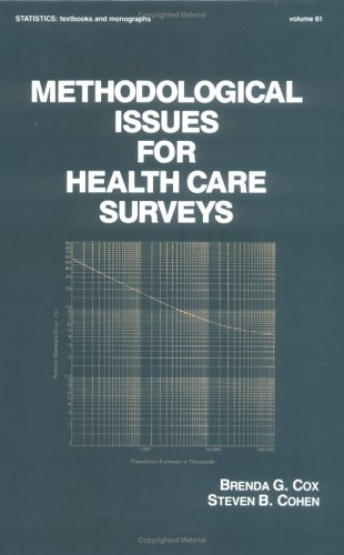 Methodological Issues for Health Care Surveys 9780824773236