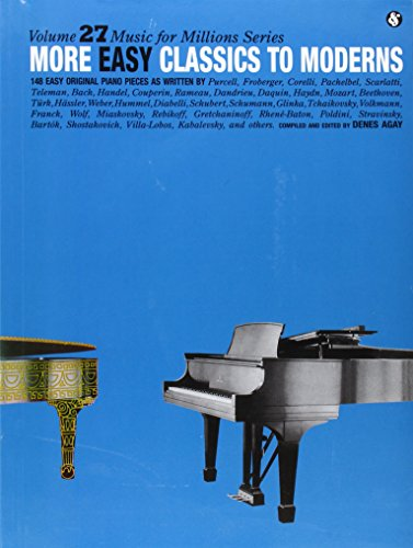 More Easy Classics to Moderns: Music for Millions Series 9780825640278