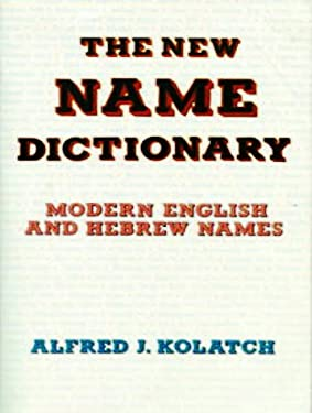 New Name Dictionary 9780824603762