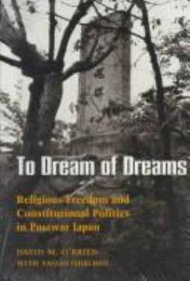 O'Brien: To Dream of Dreams Paper 9780824811662