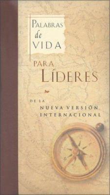 Palabras de Vida Para Lideres: de la Nueva Version Internacional = God's Words of Life for Leaders 9780829729955