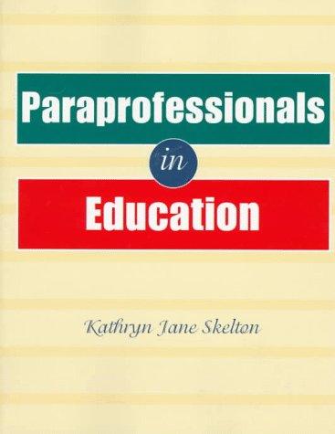 Paraprofessionals in Education 9780827381827