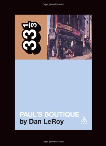 Paul's Boutique 9780826417411