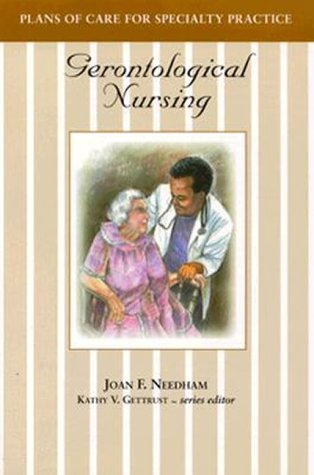 Plans of Care for Specialty Practice: Gerontological Nursing 9780827362260