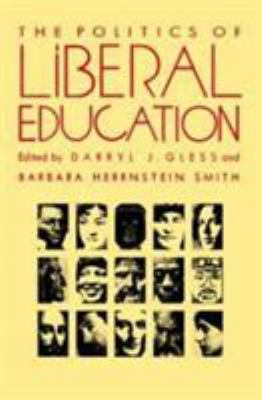 Politics of Liberal Ed-P 9780822311997