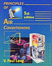 Principles of Air Conditioning 3607275