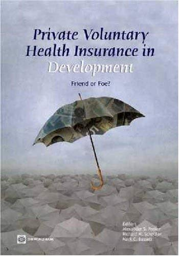 Private Voluntary Health Insurance in Development: Friend or Foe 9780821366196