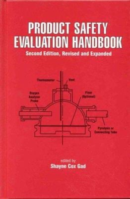 Product Safety Evaluation Handbook 9780824719715