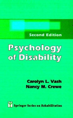 Psychology of Disability: Second Edition 9780826133427