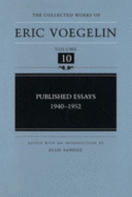 Published Essays, 1940-1952 (Cw10) 9780826213044