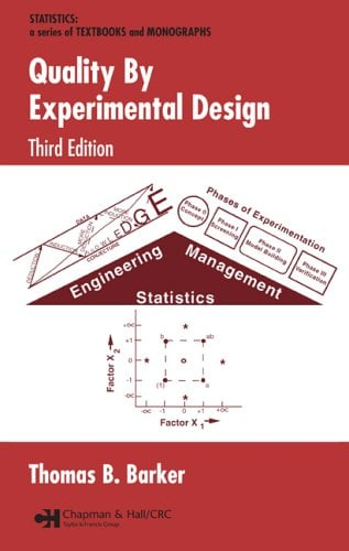 Quality by Experimental Design, 3rd Edition 9780824723095