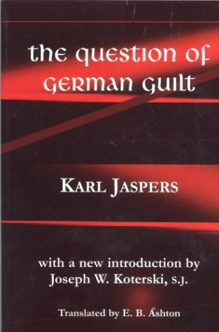 Question of German Guilt 9780823220694