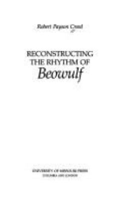 Reconstructing the Rhythm of Beowulf