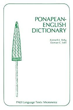 Rehg: Ponapean English Dictionary 9780824805623