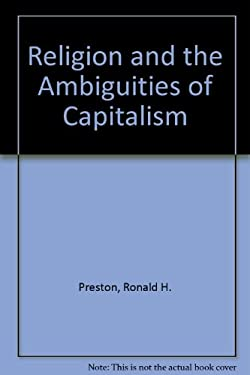 Religion and the Ambiguities of Capitalism