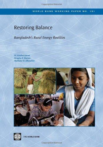 Restoring Balance: Bangladesh's Rural Energy Realities 9780821378977