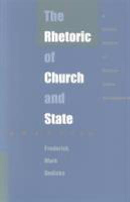 Rhet of Church/State-PB 9780822316664
