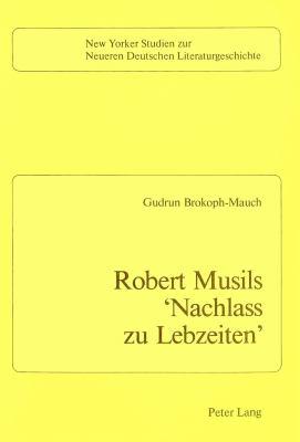 Robert Musils