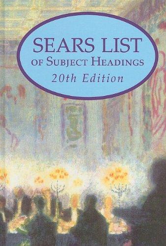 Sears List of Subject Headings 9780824211059