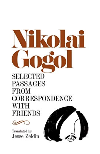 Selected Passages from Correspondence with Friends 9780826513748