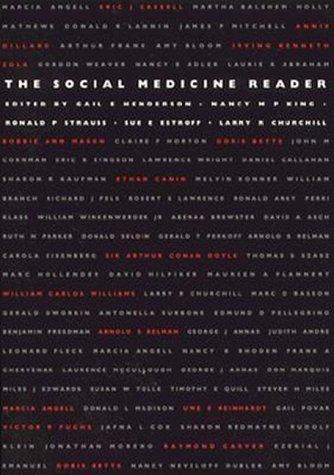 Social Medicine Reader - PB 9780822319658
