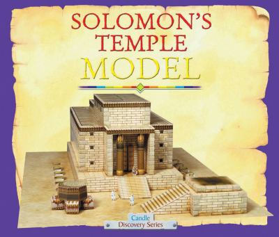 Solomon's Temple Model [With Cardboard Scale Model]
