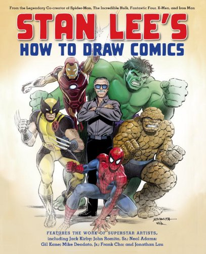 Stan Lee's How to Draw Comics: From the Legendary Co-Creator of Spider-Man, the Incredible Hulk, Fantastic Four, X-Men, and Iron Man 9780823000838