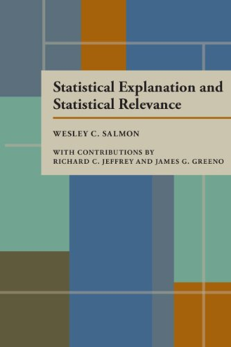 Statistical Explanation and Statistical Relevance 9780822952251