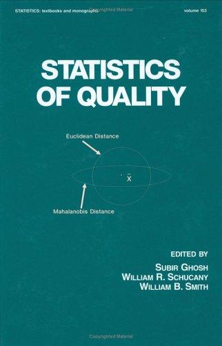 Statistics of Quality 9780824797638