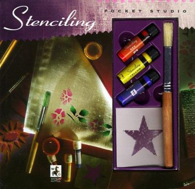 Stenciling [With Stencil, Paint, and Stencil Template and 1] 9780823056323