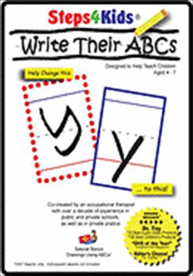 Steps4kids: Write Their ABCs