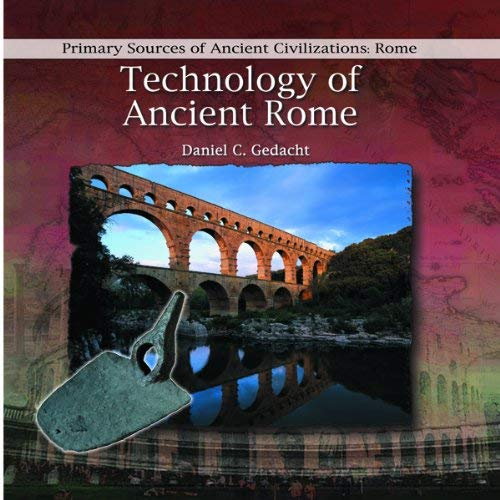 Technology of Ancient Rome 9780823967797