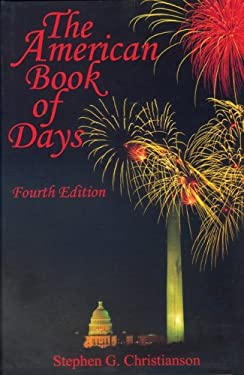 The American Book of Days 9780824209544
