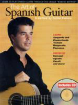 The Art of Spanish Guitar [With CD] 9780825634611
