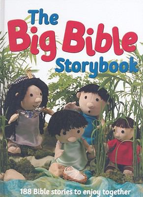 The Big Bible Storybook: 188 Bible Stories to Enjoy Together 9780825474248